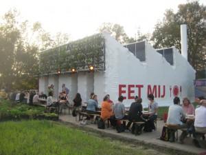 De oogst van de Eetfabriek op je bord in het restaurant. Foto: De Stuurlui