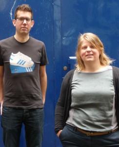 Frank de Volder en Marijke Bruinsma vormen samen stedenbouwkundig bureau De Stuurlui. Foto: De Stuurlui