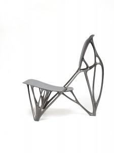 Ook Joris Laarman ontwierp zijn Bone Chair met gebruik van software afkomstig uit de auto-industrie.