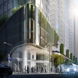 Healthy Garden, upgrading van een shopping mall in Honkong. Beeld: Triple D, George Nijland