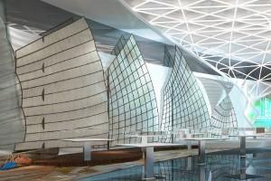 ARX heeft, in samenwerking met haar Chinese partnerbureaus Shenzen Art en One Touch Design, de prijsvraag gewonnen voor het interieurontwerp van de Oriental Fishermans Wharf (architect Perkins & Will). Dit complex van 200.000 m2, met o.a. kantoren, een hoteltoren en winkels, wordt momenteel gebouwd aan de Huangpu rivier in het Yangpu district in Shanghai. In het ontwerp voor de ontvangstruimte laat Alfonso Wolbert een traditionele vissersjonk transformeren tot een abstracte spiraalvorm.