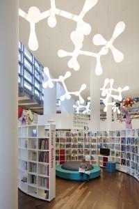De belevenisbibliotheek als 'culturele supermarkt' voor een breed publiek.  Foto: Sjaak Henselmans