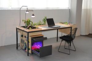 Ontwerp voor Utrecht Manifest, biënnale voor social design 2012. Desktoop, een ontwerp van Nienke Sybrandy i.s.m. Jeroen Wand.