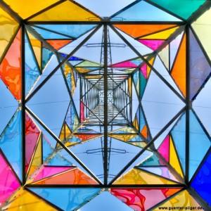 De Leuchtturm van onderen