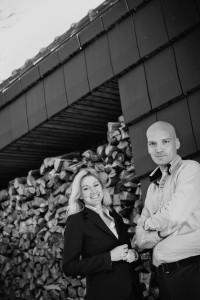 Daan Bruggink en Renée Petiet, de drijvende krachten achter ORGA architect. Foto: Matthijs Hanenkamp