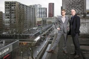 Tom Bokkers (l) en Joep van der Veen (r) van BokkersvanderVeen Architecten & Planners. Foto: Bart Maat