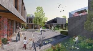 Met 'Ons Erf' won BokkersvanderVeen de derde ronde van de Jonge Architecten Prijs 2012. Het ontwerp voor een duurzaam woonwijkje met starterswoningen bevat stedelijke klimaatbuffers als half-bestrating, groene daken, bomen, bloementuinen en een grote vijver.