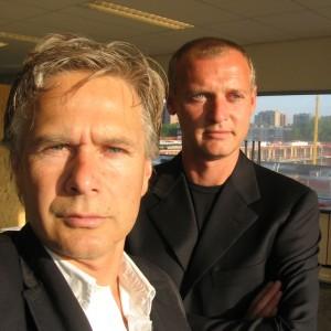 Wouter Bolsius (rechts) en Onno van Welzen (links) van Contexturearchitects.