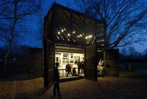 14. De Noorderparkbar bij avond. Foto: Jeroen Musch