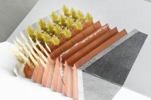 1. Outdoor Pharmacy, ontwerp Marloes van Bennekom, houdt rekening met de medicinale kracht van sommige bomen en struiken.