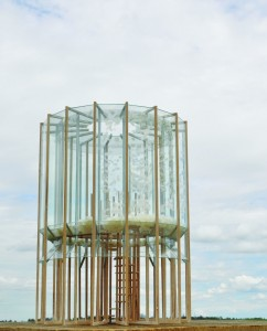 4. Wheater, feathers and frost, alternatieve weerstations visualiseren de wind, temperatuur e.d. ontwerp Martijn Koomen.