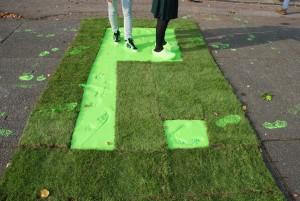 In 2011 haalde Placemakers Park[ing]day naar Nederland met een park-installatie op het Stadionplein; een verfbad waarmee mensen hun groene voetstappen verspreidden.