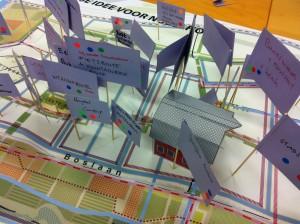 De nieuwe wijk Nobelhorst in Almere Hout Noord wordt een 'Wijk voor Initiatieven' die de mensen zélf gaan maken. Placemakers denkt mee, haalt ideeën naar boven tijdens workshops en verzamelt inspirerende voorbeelden in de waaier 'tijdelijke en definitieve placemaking'.