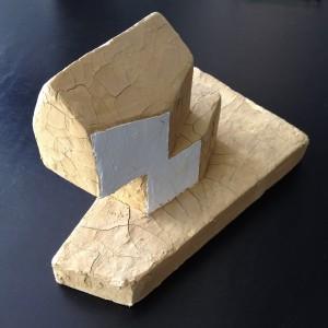 Sculptuurmaquette van Onix