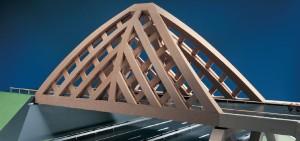 Presentatiemaquette brug bij Sneek van Onix en Achterbosch Architectuur
