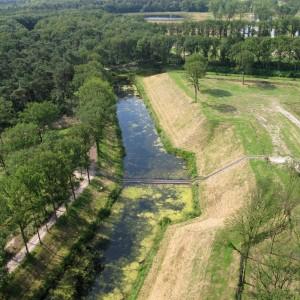 Het gereconstrueerde fort is onderdeel van de West Brabantse Waterlinie. Foto: RO&AD architecten