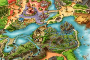 Het Poolse plan is inmiddels Adventure World Warsaw gedoopt.