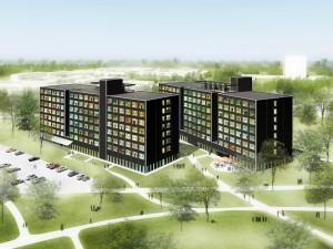 20. Voor Campus Boerhaave in Leiden ontwierp Claus en Kaan architecten twee gebouwen met in totaal 504 studentenunits, die midden 2012 in gebruik zijn genomen.