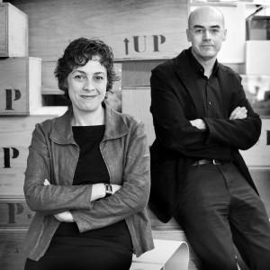 Helena Casanova en Jesús Hernández: liever succesvol in het delen van kennis en opvattingen, dan grossieren in gebouwen. Foto: Mirjam van der Hoek