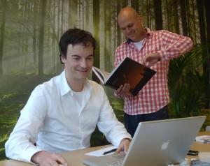 Theo Mathijssen (1975) en Erik Pennings (1976) vormen samen reSET.
