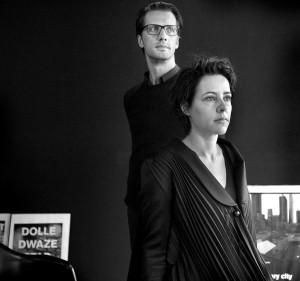 Elma van Boxtel en Kristiaan Koreman. Foto: Mirjam van der Hoek