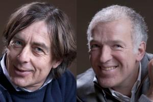 Michael van Leeuwen (l) en Hans Sluijmer. Foto: Paulien de Gaaij
