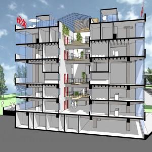 Starterswoningen in voormalige fabriek in de regio Utrecht, initiatieffase.