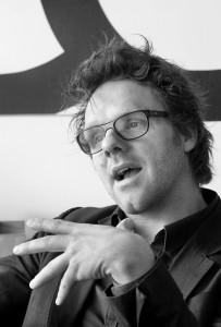 Marnix van der Meer: 'Hoewel we inmiddels een stuk serieuzer zijn geworden, ben ik nog steeds van mening dat architectuur plezier moet uitstralen.' Foto: Mirjam van der Hoek