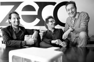 V.l.n.r. Bart Kellerhuis, Marnix van der Meer en Steven Nobel. Foto: Mirjam van der Hoek