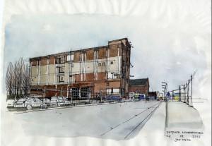 Sfeerimpressie van industrieel erfgoed in Zutphen, Jan Metz