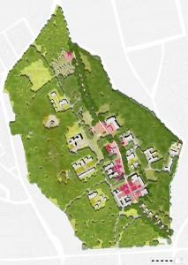 Ontwikkelingsvisie St. Annaterrein in Venray, samen met ZUS (Zones Urbaines Sensibles) en bureau Rekenruimte, in opdracht van Atelier Rijksbouwmeester, 2012.