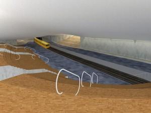 11. Perrons aan weerszijden van het spoor