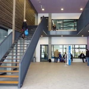 1. Entree van het zwembad Krommerijn. Foto: Jeanne Dekkers Architectuur