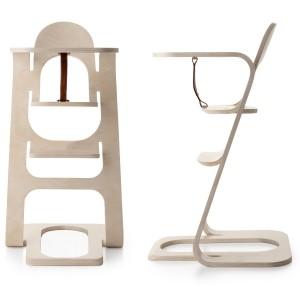 Een product, waar een langere tijd aan is ontwikkeld, is de ONE kinderstoel, gevouwen uit één stuk multiplex. 'We willen een andere kinderstoel maken. Niet eentje die verstelbaar en aanpasbaar moet zijn, want in praktijk blijft een kinderstoel vaak ongewijzigd, nadat die in elkaar is gezet. We wilden een mooie stoel maken die aan de wettelijke eisen voldoet.' Foto: NOtoys