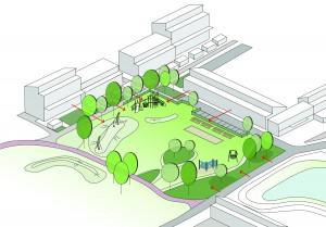 De gemeente Deventer heeft bewoners van de wijk 't Oostrik opgeroepen voorstellen in te dienen ter verbetering van de wijk. Urban Synergy is met de bewoners aan de slag gegaan om deze voorstellen uit te werken. Juli 2012 is gestart met de herinrichting van het park, dat meer opengesteld wordt naar de omgeving en aansluit op bestaande routes. Nieuwe speeltoestellen, zitelementen en heldere entrees verhogen de gebruikswaarde. De belevingswaarde krijgt een impuls door meer en beter gestuurd zicht en bloeiende beplanting. Het ontwerp is uitgewerkt i.s.m. landschapsarchitect Harro Wieringa van bureau Witteveen+Bos.