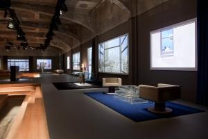 Voor Knoll ontwierp Rem Koolhaas de collectie Tools for Life, meubilair dat aangepast kan worden aan de behoefte van het moment. Foto: Agostino Osio