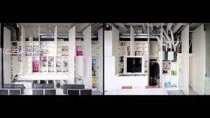 Paul Kroese presenteerde de film Daily Dynamics over zijn interieurontwerp voor het kantoor van internetbedrijf Carlink.