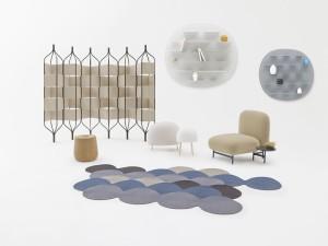 De collectie van de rising star van het Italiaanse design Luca Nichetto en de Japanse zen-minimalist Nendo.