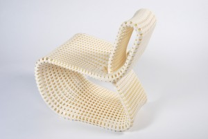 Anke Bernotat, Cellular Loop Chair 2012. Foto: Ricardo Josefa