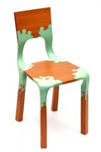 Alexander Pelikan, Plastic Nature chair, het allereerste exemplaar uit 2007.