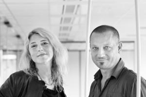 Eline Strijkers en Duvan Doepel. Foto: Mirjam van der Hoek
