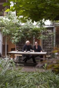 Folkert van Hagen en Monica Adams werden prompt verliefd op dit huis