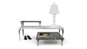 Bassotti marmeren tafels van Marcel Wanders voor Moooi