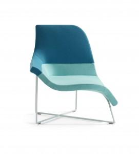 Gemini van UN Studio, een stoel voor een actieve werkhouding én een meer ontspannen zit