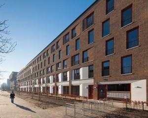 Vanaf het begin van het project Stadstuin Overtoom in Amsterdam (450 woningen) is Jörgen Haring betrokken als projectarchitect, eerst namens KOW en nu als FORM i.s.m. KOW • Foto Dirk Verwoerd.