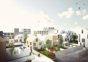 Cityplots© zoals die gaan worden toegepast in Buiksloterham. Foto: Studioninedots