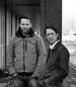 MOPET architecten is in 2004 opgericht door Joep Mollink (links) en Daniel Peters. Foto: Roel Dijkstra