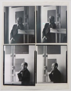 Piet Mondriaan in New York, Arnold Newman, 1942