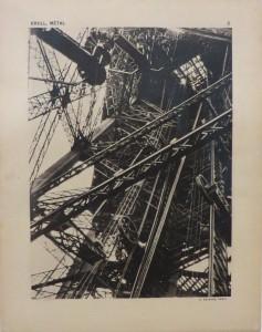 Foto uit de serie studies van metalen objecten in Rotterdam Amsterdam Parijs en Marseille, Germaine Krull 1927-1928