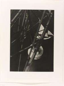Laslo Moholy-Nagy zicht vanaf de Pont Transbodeur in Parijs